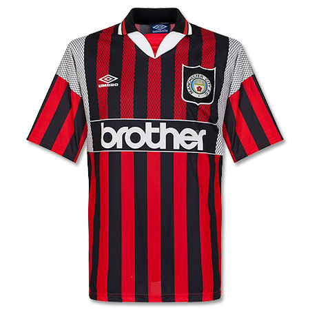 Umbro Manchester City 1994-1995 Away Shirt - USED Condition (Great) - Size